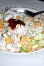 Fitness-Rezept - Fruchtige Joghurtcreme mit Cerealien