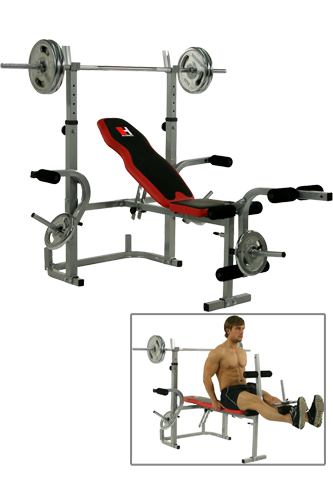 fitness studio f r zuhause hammer hantelbank bermuda xt. Black Bedroom Furniture Sets. Home Design Ideas