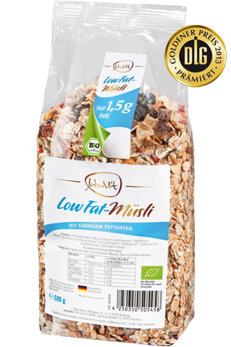 JabuVit Low Fat-Müsli 500g