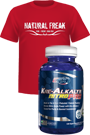 EFX Kre-Alkalyn Nitro Pro 120 Caps + Shirt red