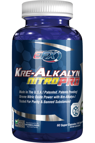 EFX Kre-Alkalyn Nitro Pro - 60 Super Caps