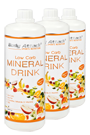 Body Attack Low Carb Mineral Drink 1000 ml 3 Flaschen