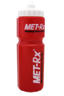 MET-Rx Sports Bottle - 750ml red-white