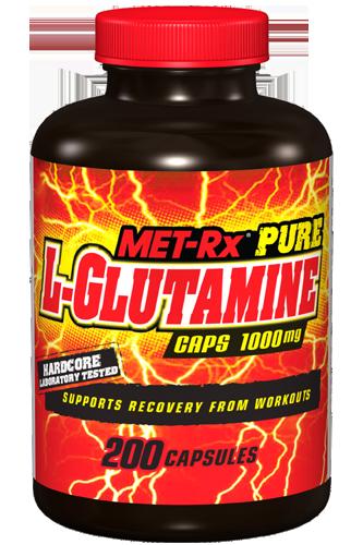 MET-Rx L-Glutamine 1000mg 200 Kapseln