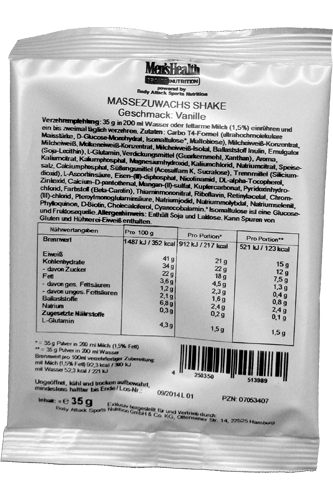 Men�s Health Massezuwachs Shake 35g Probe
