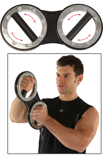 Men�s Health POWERTOOLS Speed-Wheel Boxerhantel
