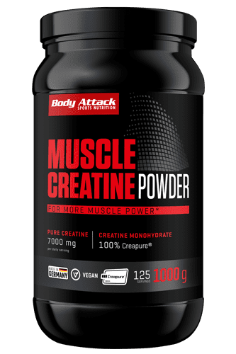 Body Attack Muscle Creatine 1kg (Creapure<sup>®</sup>)