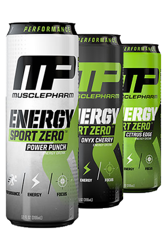 MusclePharm Energy Sport Zero - 355ml