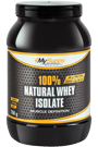 My Supps 100% Natural Whey Isolate - 750g Restposten