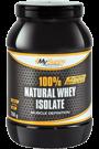 My Supps 100% Natural Whey Isolate - 750g Restposten
