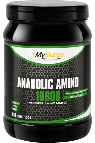 my supps anabolic bcaa powder 300g