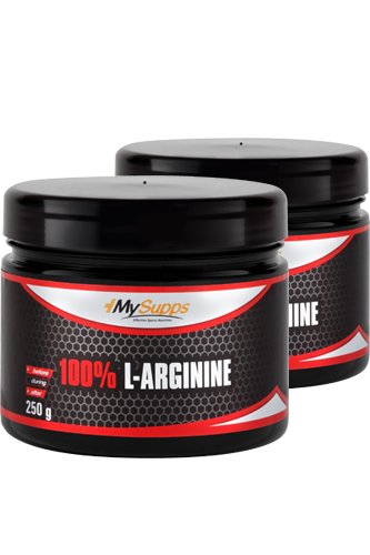 My Supps L-Arginine Powder - 250g Doppel-Pack