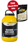 My Supps Maxximum Mass Gainer 4750g plus Gratis Muscle Whey