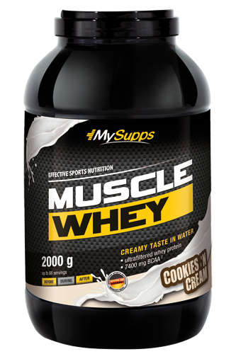 My Supps Muscle Whey - 2kg Restposten