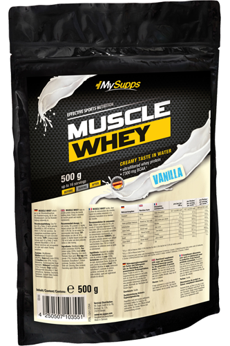 My Supps Muscle Whey - 500g