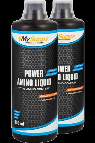 My Supps Power Amino Liquid 1000ml Doppelpack