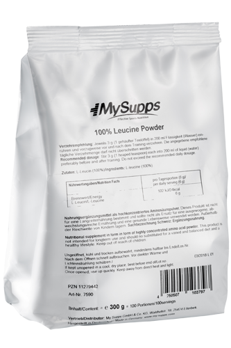 My Supps 100% Leucine 300g