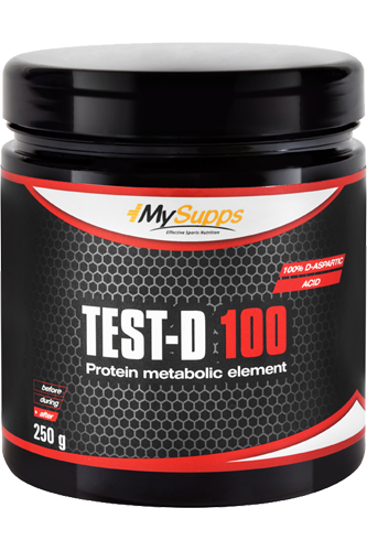 My Supps Test-D 100 - 250g