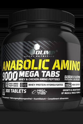 Olimp Amino 9000 Mega Tabs - 300 Tablets
