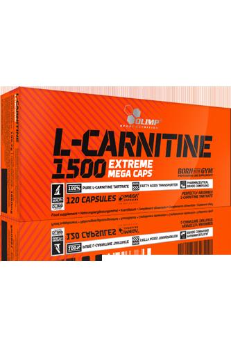 Olimp L-Carnitine 1500 – 120 Kapseln