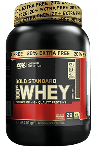Optimum Nutrition Gold 100% Whey - 1089g