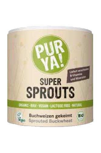 PURYA Super Sprouts Buchweizen - 220g