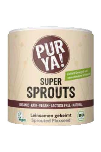 PURYA Super Sprouts Leinsamen - 200g