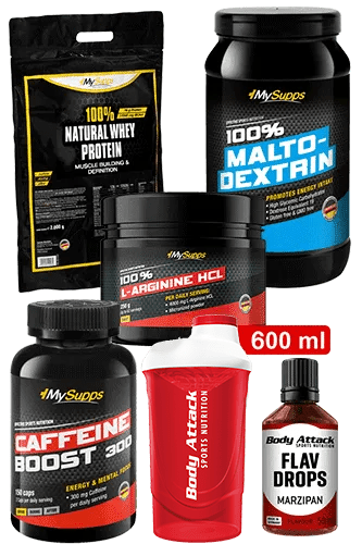 My Supps Pre Workout Paket Standard