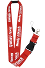 Body Attack Sports Nutrition Schl�sselband - rot