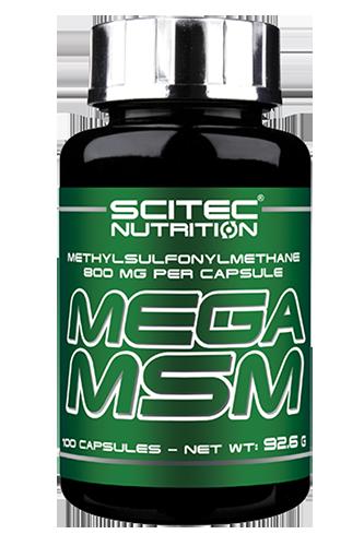 Scitec Nutrition Mega MSM - 100 Caps