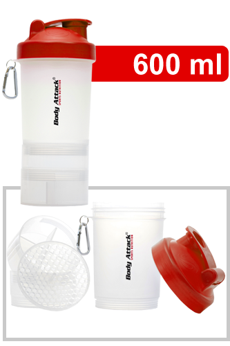 SmartShake - Shaker Red One (Body Attack Logo)