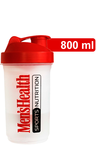 SmartShake v2 - Shaker Red One (Men�s Health Logo)