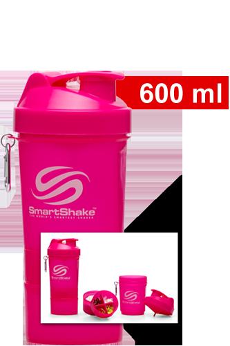 SmartShake v2 - Shaker Neon Pink (SmartShake Logo)