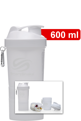 SmartShake v2 - Shaker Neon White (SmartShake Logo)