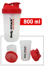 SmartShake v2 - Shaker Red One (Body Attack Logo)