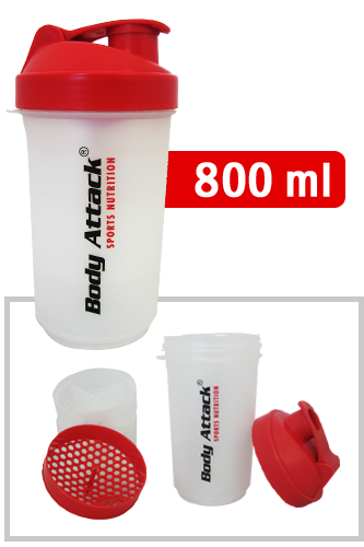 SmartShake v2 - Shaker Red One (Body Attack Logo)