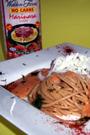 Fitness-Rezept - Vollkorn-Spaghetti auf Marinara Sauce