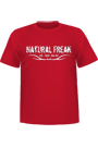 T-Shirt Natural Freak� - red