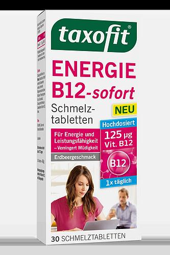 Taxofit Energie B12-sofort - 30 Schmelztabletten