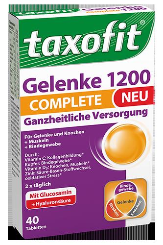 Taxofit Gelenke 1200 Complete - 40 Tabletten