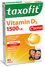 Taxofit Vitamin D3 1500 - 45 Tabletten