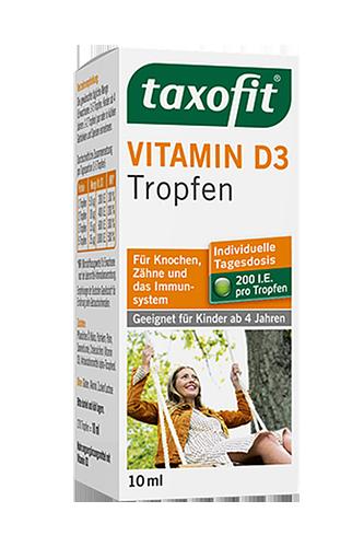 Taxofit Vitamin D3 Tropfen - 10ml