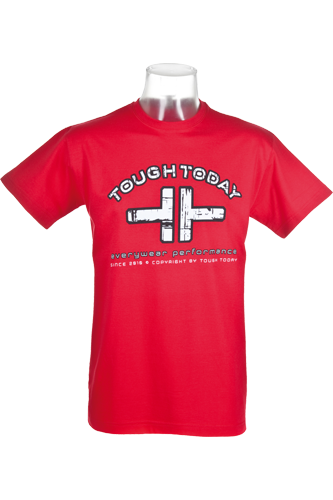 Tough Today T-Shirt red