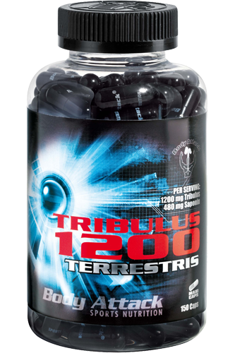 Body Attack Tribulus Terrestris 1200 - 150 Caps