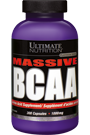 Ultimate Nutrition Massive BCAA 1000mg 300 Caps