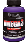 Ultimate Nutrition Omega 3 - 180 Caps