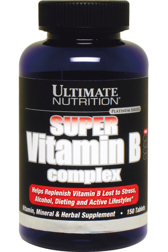 Ultimate Nutrition Vitamin B-Complex - 150 Tabs