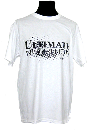 Ultimate Nutrition T-Shirt weiss