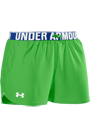 Under Armour Woman Play Up Short liz green