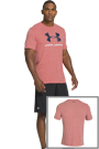 Under Armour Sportstyle Logo Tee bubblegum